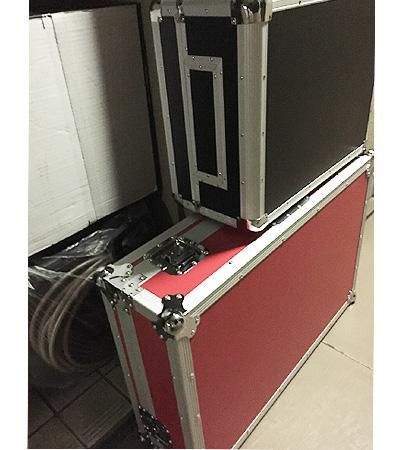 フライトケースは積み重ねても大丈夫