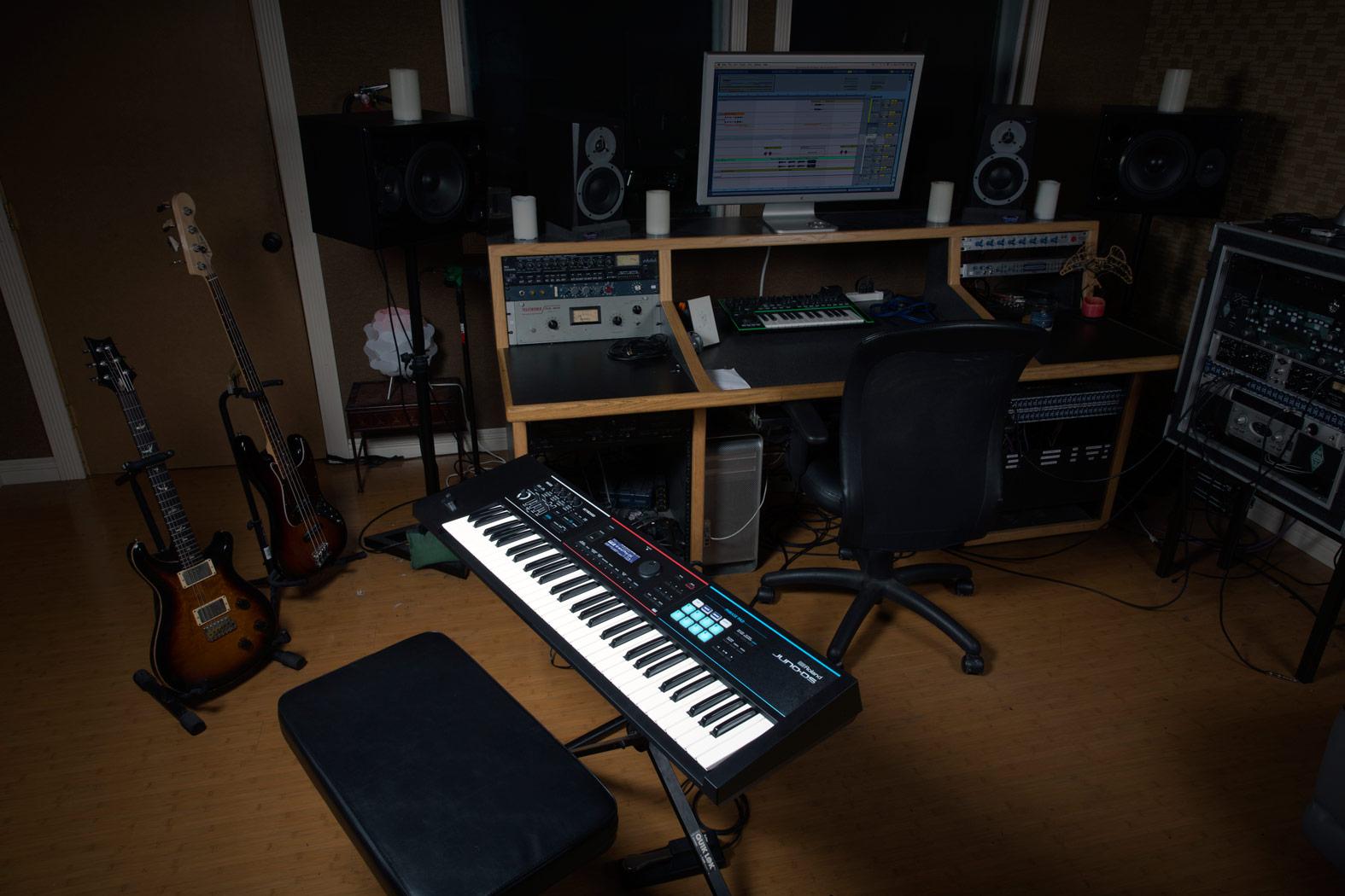 JUNIO-DS61で作曲 MIDI鍵盤