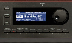 JUNO-DS61ディスプレイ
