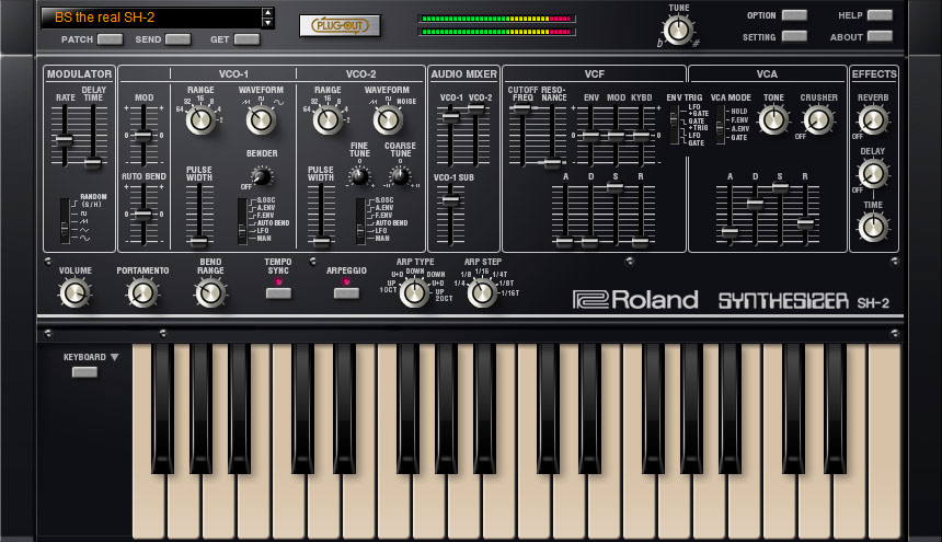 Roland AIRA SYSTEM-1 SH-2