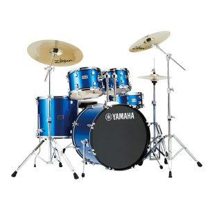 YAMAHA(ヤマハ) / RYDEEN(ライディーン) [RDP2F5STD FB(ファインブルー)]【22BD シンバル付きフルセット】 - ドラムセット -