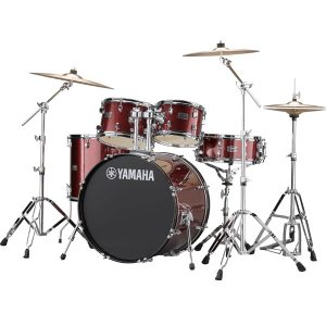 YAMAHA(ヤマハ) / RYDEEN(ライディーン) [RDP2F5STD BGG(バーガンディグリッター)]【22BD シンバル付きフルセット】 - ドラムセット
