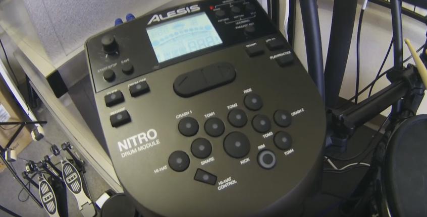 ALESIS NITRO KIT 音源モジュール