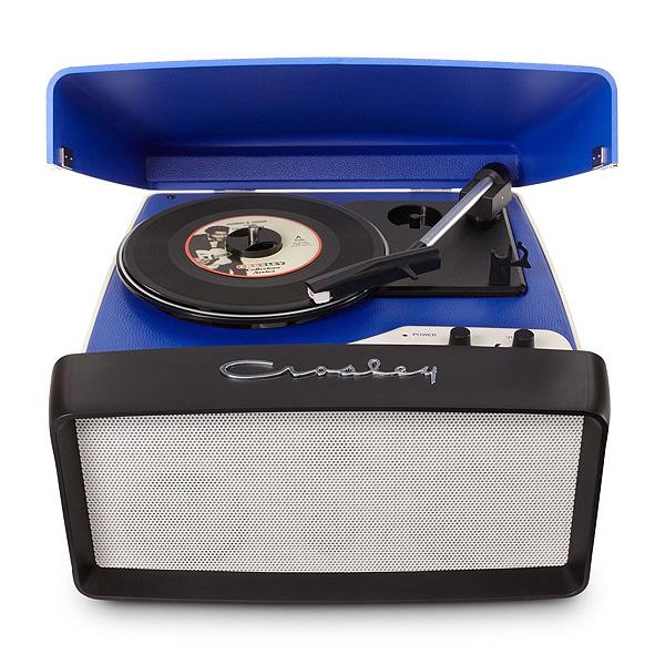 Crosley(クロスレイ) / Collegiate Portable USB Turntable (CR6010A-BL) - ポータブルUSBレコードプレイヤー -