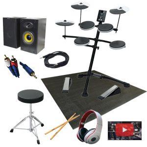 【初心者セットB】Roland(ローランド) / TD-1K 電子ドラム 【Vドラム】 7大特典セット