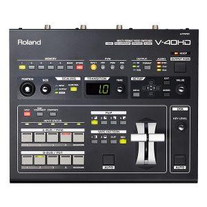Roland(ローランド) / V-40HD - マルチフォーマット・ビデオスイッチャー