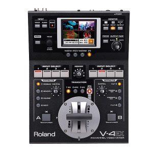 Roland(ローランド) / V-4EX - HDMI対応 4チャンネル10入力/3出力のコンパクト・ビデオ・ミキサー