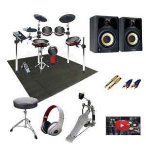 【高音質モニタースピーカー付きセット】Alesis(アレシス) / CRIMSON MESH KIT - 電子ドラム -