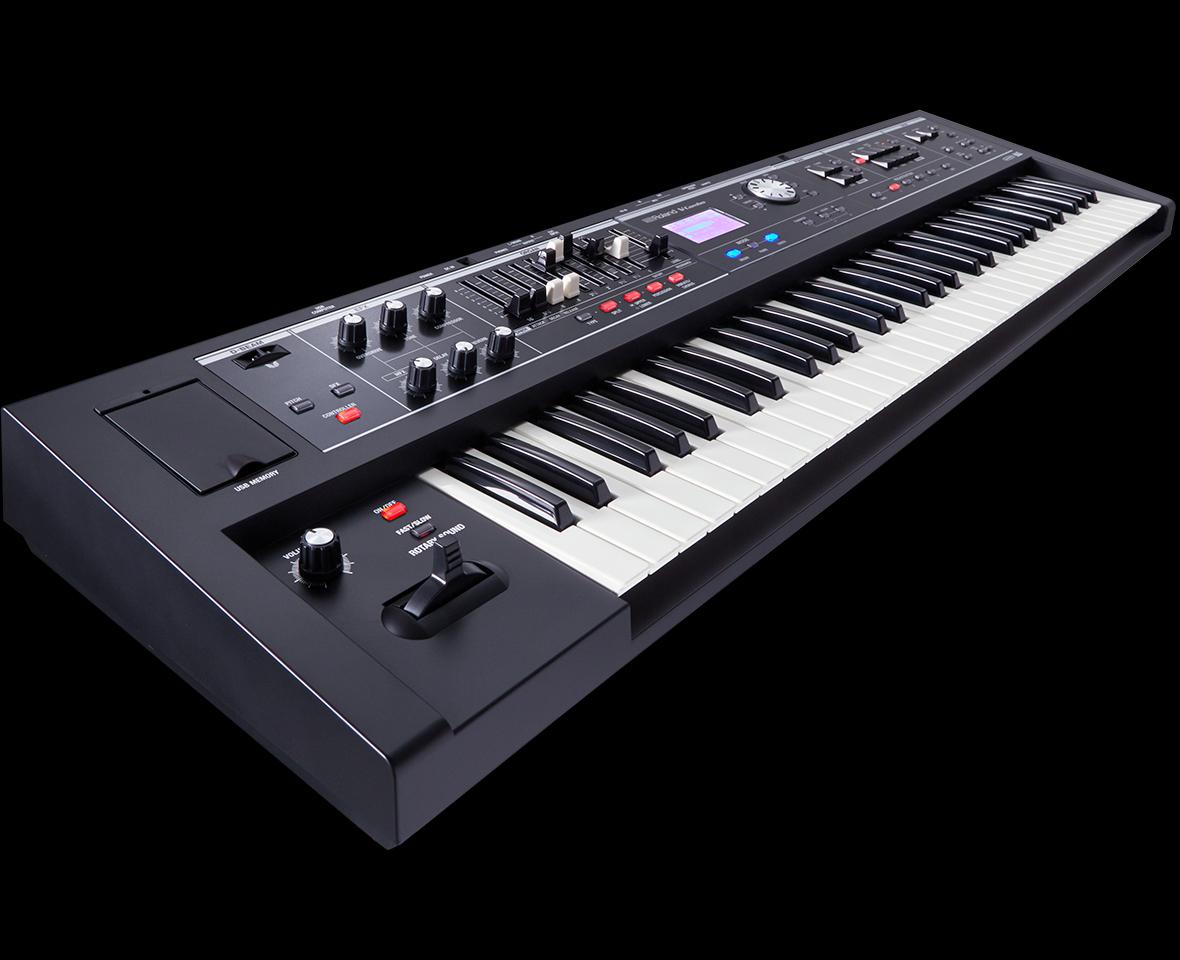 Roland ローランド シンセサイザー オルガン キーボード V-combo VR-730 VR-09-B
