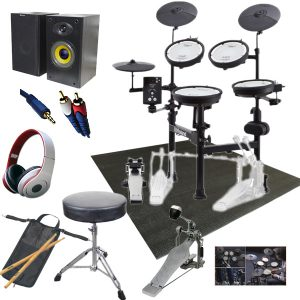 【初心者セットB】Roland(ローランド) / TD-1KPX2 V-Drums Portable Vドラム 電子ドラム