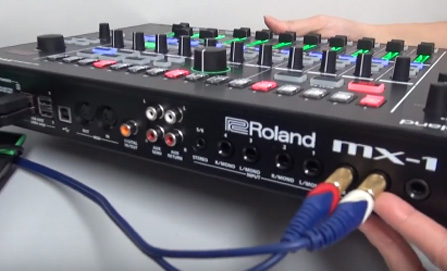 Roland AIRA MX-1 入力