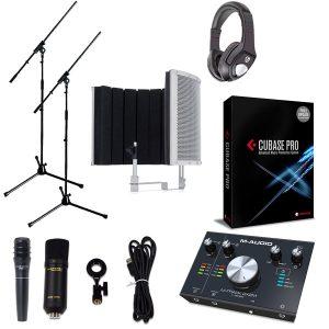 【 Cubase Pro 9 (アカデミック版) 高品質弾き語り録音セットA 】 Marantz(マランツ)  MPM-1000U / M-TRACK 2x2M / PRO63 / Sound Shield Live セット