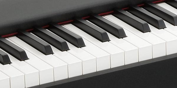 KORG D1は日本製鍵盤搭載