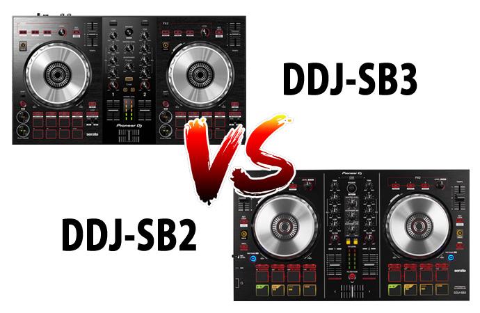 DDJ-SB3 vs DDJ-SB2 その違いは?