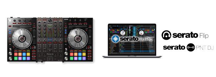 Serato Flip とPitch'n Time DJ のSerato DJ Expansion Packs を同梱