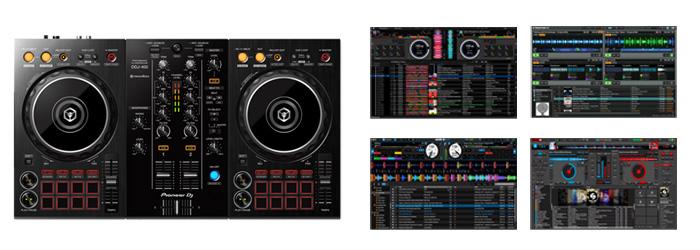 DDJ-400 はSerato DJやTRAKTRO Vitual DJ は使えるの?