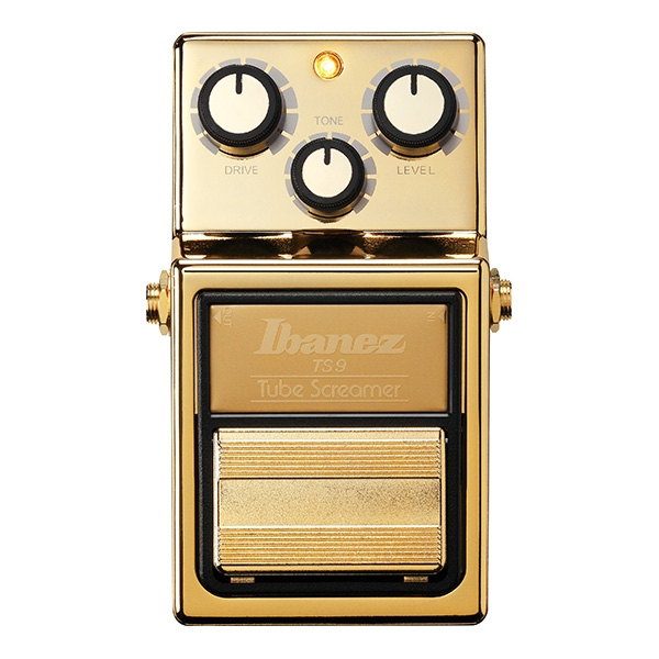 Ibanez(アイバニーズ) / TS9GOLD Limited [The golden age for TS family!] チューブ・スクリーマー2018楽器フェア限定モデル