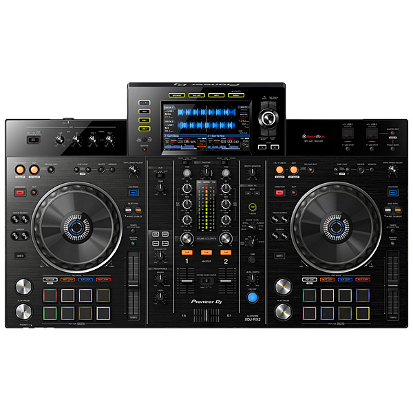 Pioneer(パイオニア) / XDJ-RX2 【rekordbox dj ライセンス付属】 - USBメモリー、iPhone、Android 対応 DJコントローラー -【期間限定撥水ケースプレゼント】
