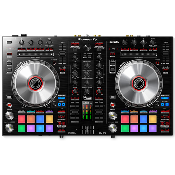 Pioneer(パイオニア) / DDJ-SR2  【Serto DJ 無償】 PCDJコントローラー【数量限定収納ケースプレゼント!】
