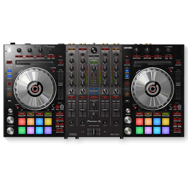 Pioneer(パイオニア) / DDJ-SX3 【Serato DJ Pro 無償対応】DVS対応4チャンネルリアルミキサー機能搭載