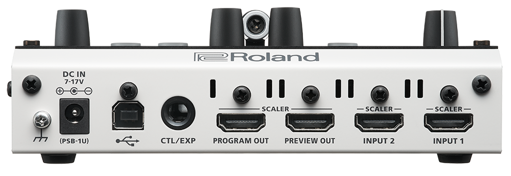 Roland V-02HD 入力端子