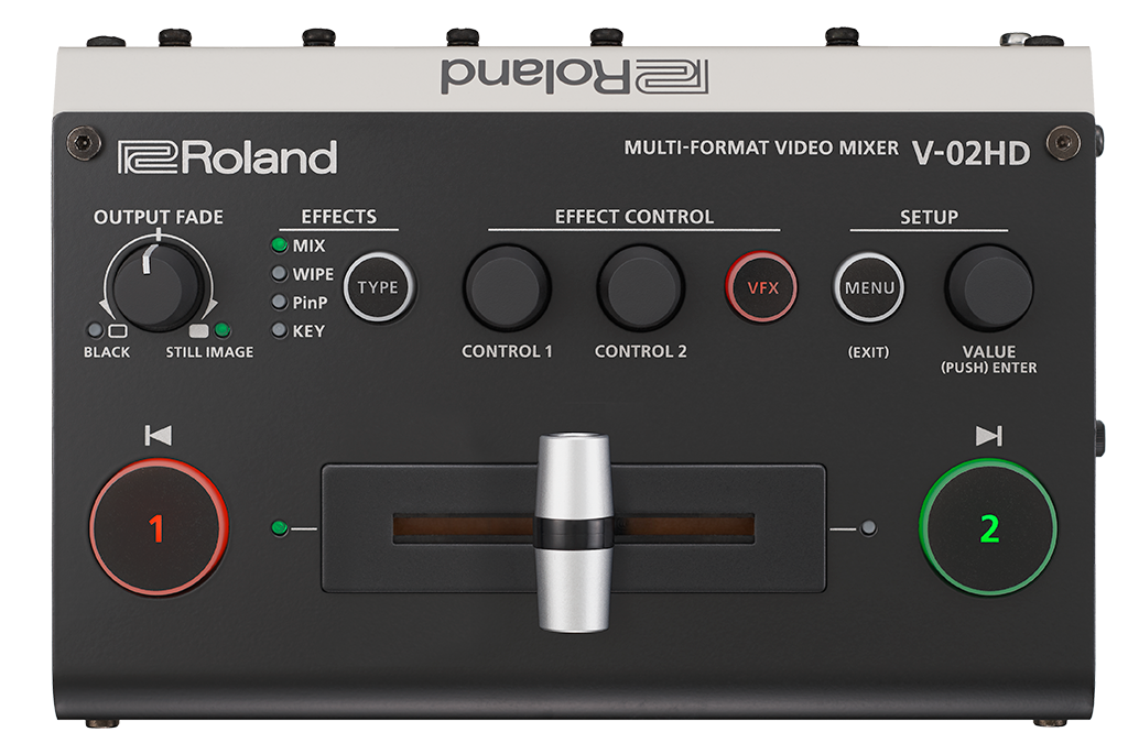 Roland V-02HD 操作