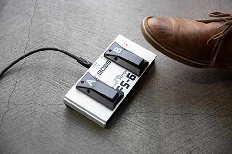 Roland V-02HD フットスイッチ