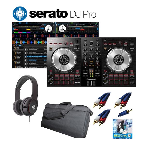 Pioneer(パイオニア) / DDJ-SB3 / Serato DJ セット【Serato フェア】