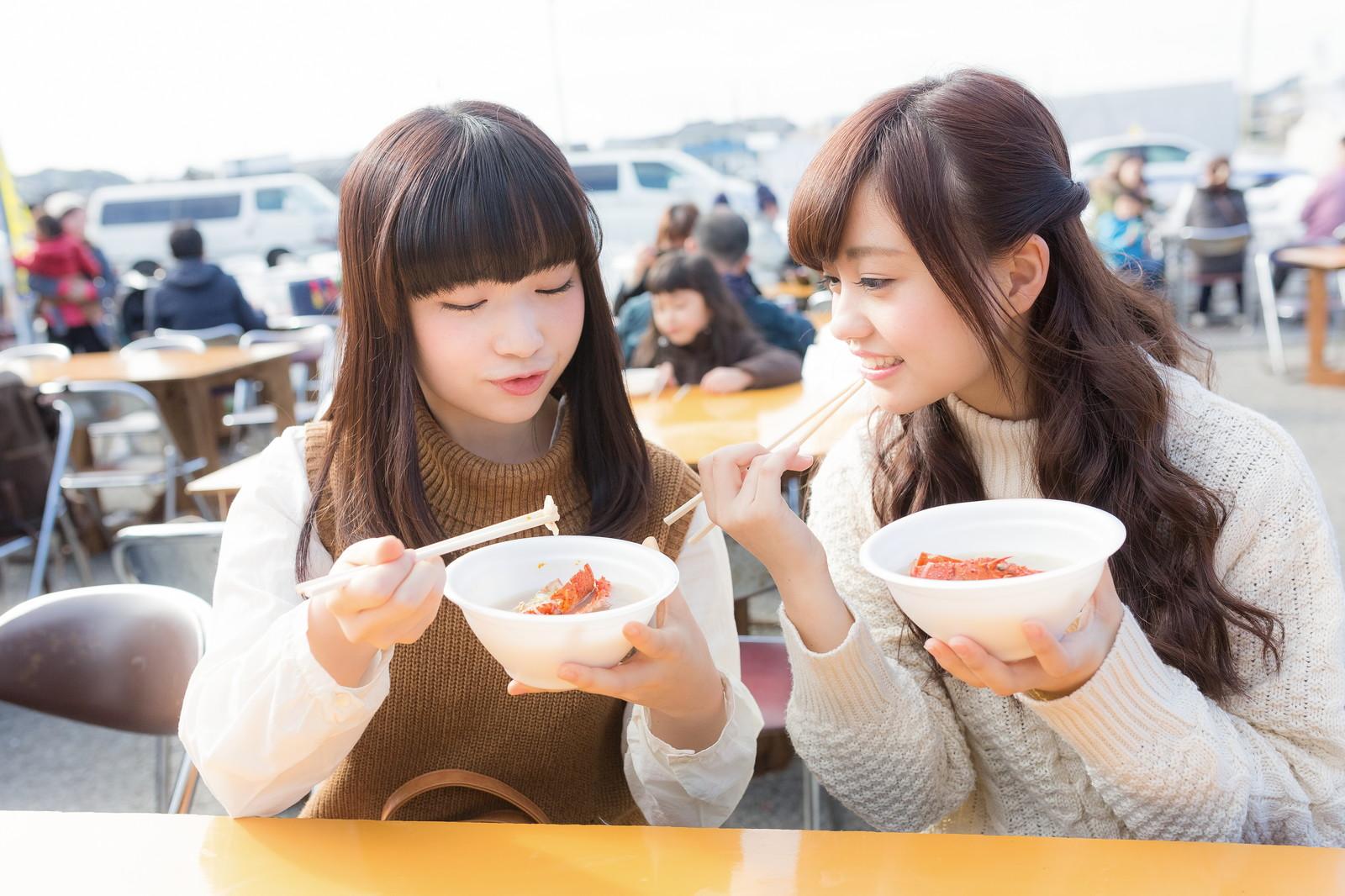 お寺で飲食イベント