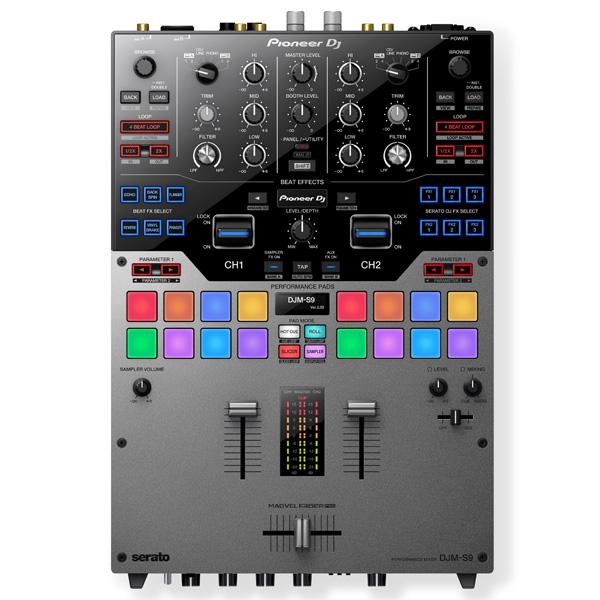 Pioneer(パイオニア) / DJM-S9-S - SERATO DJ専用2CHミキサー- 【国内200台限定】