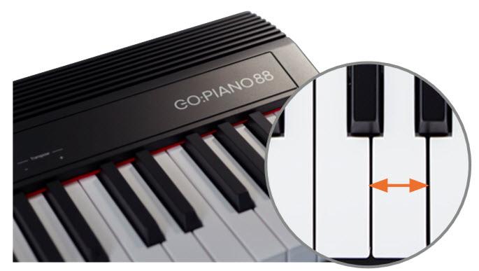 Roland ローランド GO:PIANO88 ピアノと同じ鍵盤幅