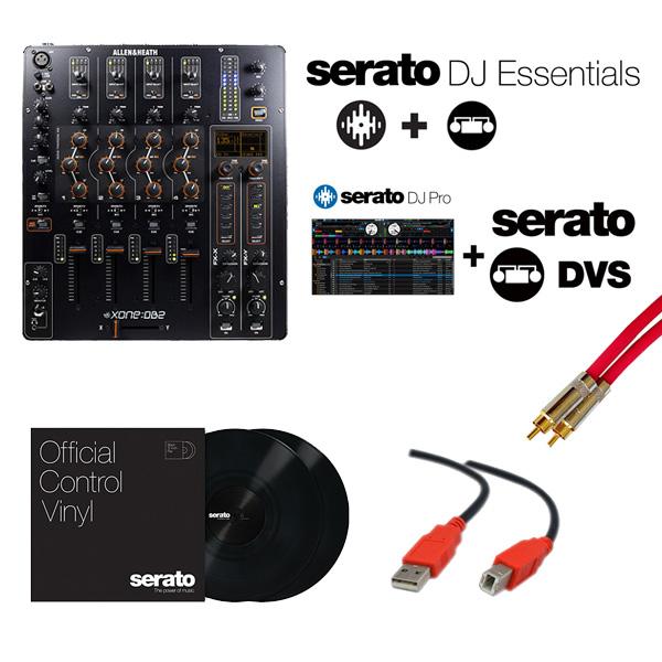 Allen&Heath(アレンアンドヒース) / XONE:DB2 / Serato DJ Essentials DVS セット