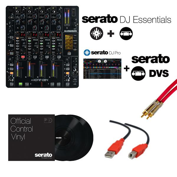Allen&Heath(アレンアンドヒース) / XONE:DB4 / Serato DJ Essentials DVS セット