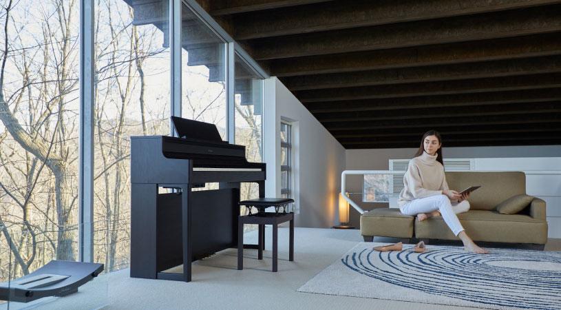 Roland デジタルピアノ HP700 Bluetooth