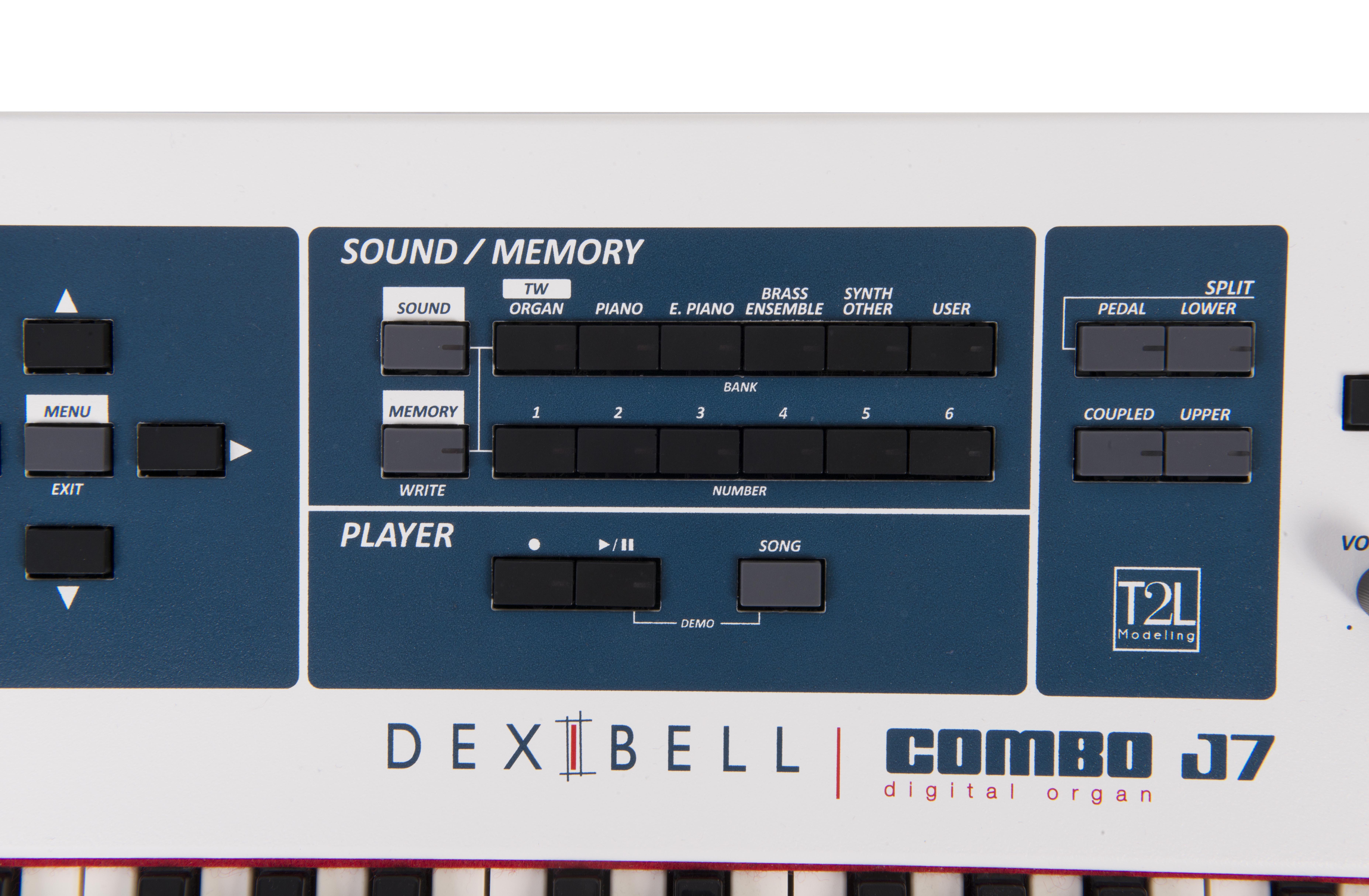 COMBO J7 (73鍵) 音色