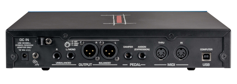 VIVO SX7の接続パネル