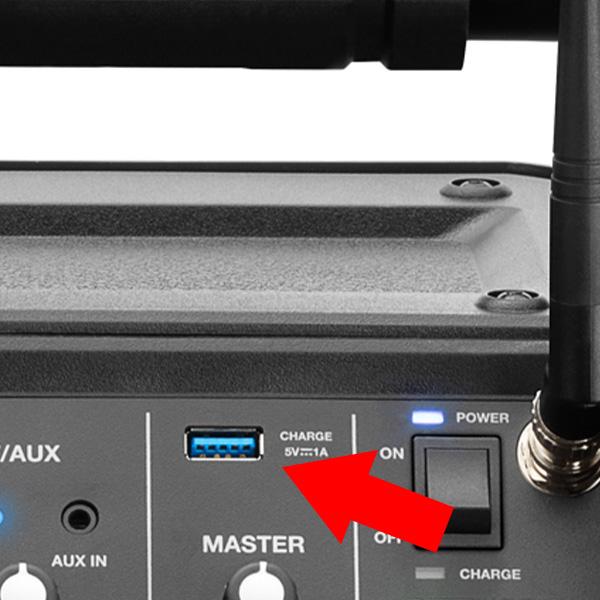 Denon Professional / CONVOY USBポート