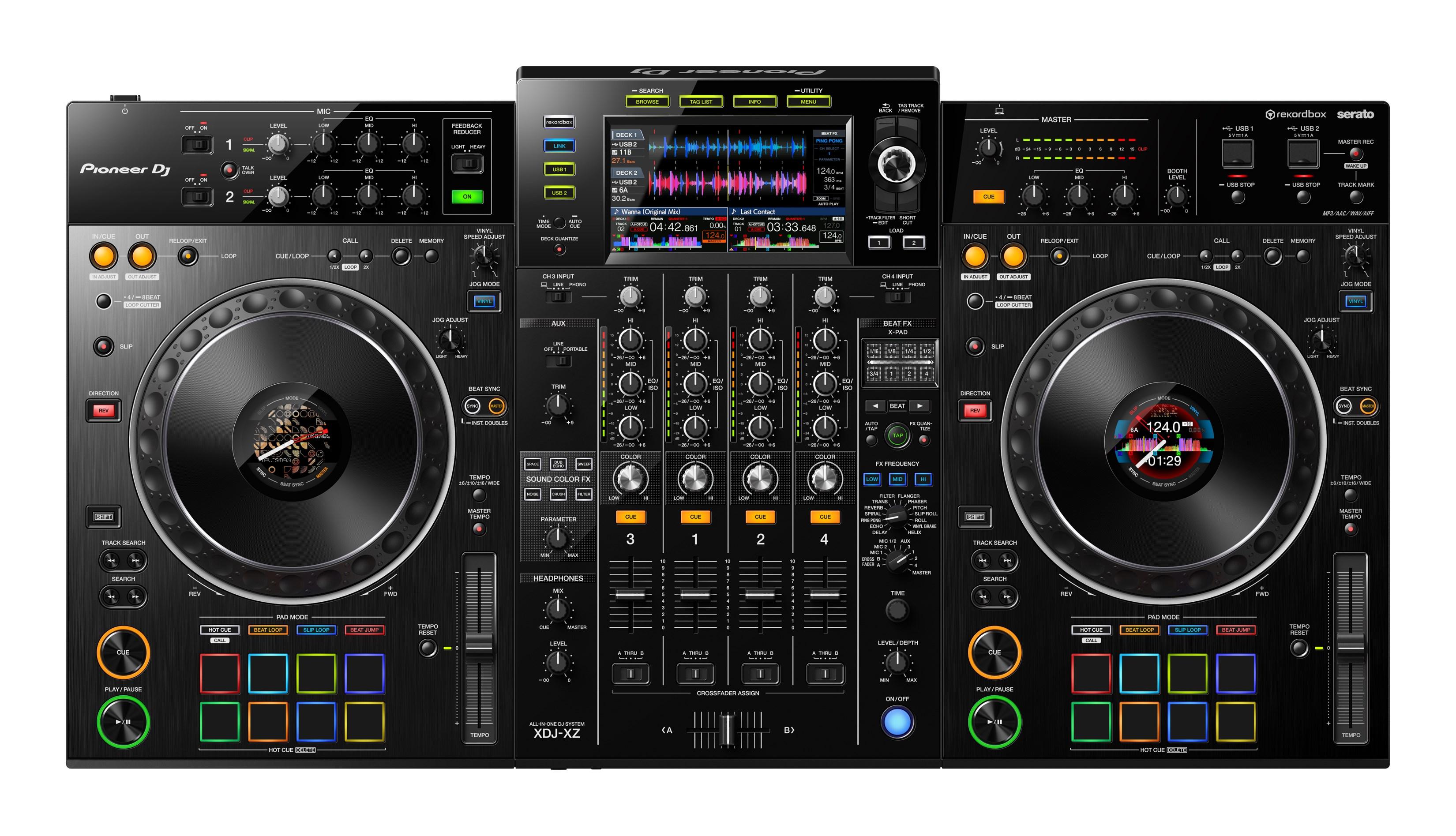 Pioneer(パイオニア) / XDJ-XZ 【rekordbox dj ライセンス付属】 - USBメモリー、rekordbox dj、Serato DJ、iPhone、Android 対応 DJコントローラー -