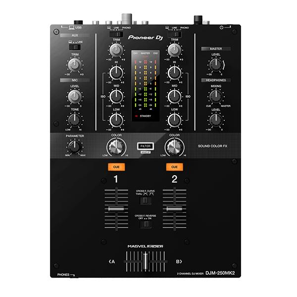 Pioneer(パイオニア) / DJM-250MK2 - DVS機能搭載 2ch DJミキサー-