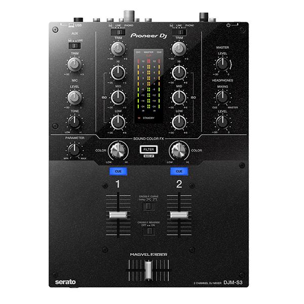 Pioneer(パイオニア) / DJM-S3 - SERATO DJ専用2CHミキサー-